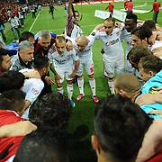 Sivasspor's players during their Turkish Super League soccer match Galatasaray between Sivasspor at the AliSamiYen Spor Kompleksi TT Arena at Seyrantepe in Istanbul Turkey on Sunday 05 May 2013. Photo by TURKPIX