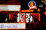 go-go bar in red light district of Nana