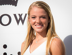 January 13, 2019 - Melbourne, AUSTRALIA - Katie Swan of Great Britain on the red carpet of the Crown IMG Tennis Party ahead of the 2019 Australian Open Grand Slam tennis tournament (Credit Image: © AFP7 via ZUMA Wire)