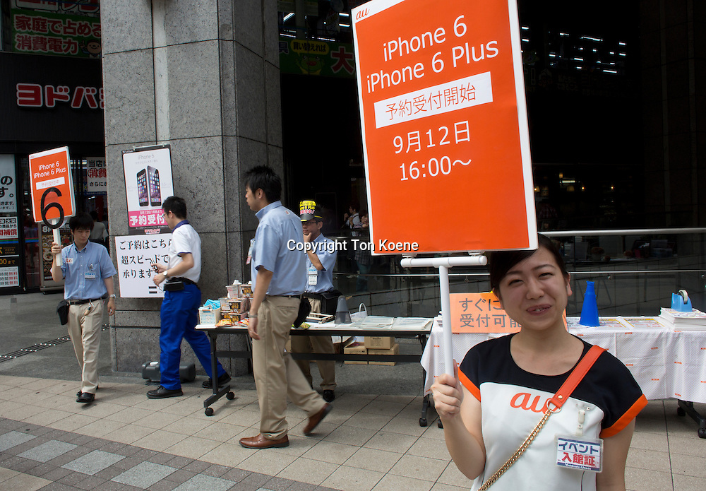 iphone 6 release in Japan