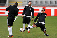 20120213: BRAGA, PORTUGAL - Midfielder Julio Alves at the Besiktas JK training session before UEFA Europe League match against SC Braga.<br />