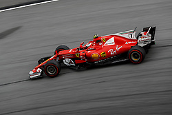 September 29, 2017 - Sepang, Malaysia - Motorsports: FIA Formula One World Championship 2017, Grand Prix of Malaysia, .#7 Kimi Raikkonen (FIN, Scuderia Ferrari) (Credit Image: © Hoch Zwei via ZUMA Wire)