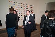 POJU ZABLUDOWICZ, Damien Hirst, Tate Modern: dinner. 2 April 2012.