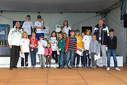 , BMW Sailing Cup Berlin Wannsee 20. - 22.09.2012, OPTI Siegerehrung B