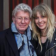 NLD/Amsterdam/20150208 - Herpremiere Sonneveld, Jan des Bouvrie en dochter Bo des Bouvrie