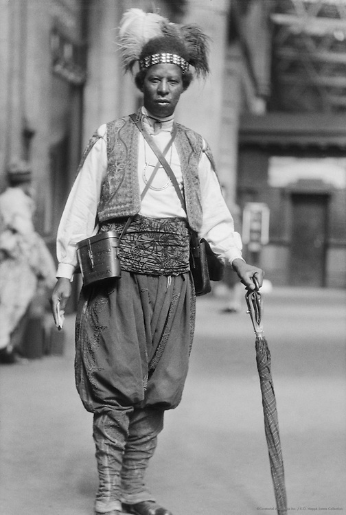 Ras Prince Monolulu, London, 1929