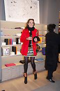 MARIELLA TANDY, Smythson Sloane St. Store opening. London. 6 February 2012.