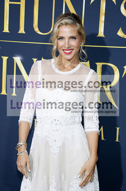 Elsa Pataky at the Los Angeles premiere of 'The Huntsman: Winter's War' held at the Regency Village Theatre in Westwood, USA on April 11, 2016.