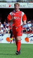 Paul Webb - Kidderminster. Kidderminater Harriers v Torquay United. League Division Three, 12/8/00. Credit Colorsport / Nick Kidd.