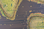 Aerial view of Lake Somerset, Queensland, Australia