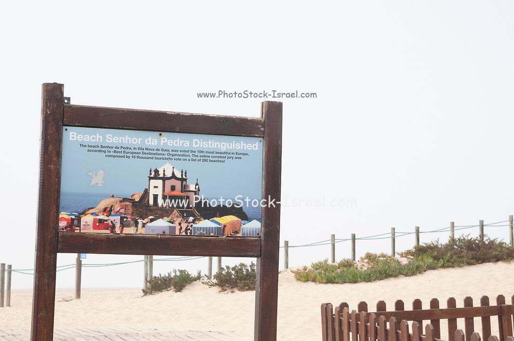 Senhor da Pedra Beach, Vila Nova de Gaia, Portugal was voted the 10th most beautiful beach in Europe.