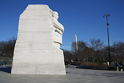 THEMENBILD - Martin Luther King, Jr. National Memorial. Reisebericht, aufgenommen am 14. Jannuar 2016 in Washington D.C. // Martin Luther King, Jr. National Memorial. Travelogue, Recorded January 14, 2016 in Washington DC. EXPA Pictures © 2016, PhotoCredit: EXPA/ Eibner-Pressefoto/ Hundt<br /> <br /> *****ATTENTION - OUT of GER*****