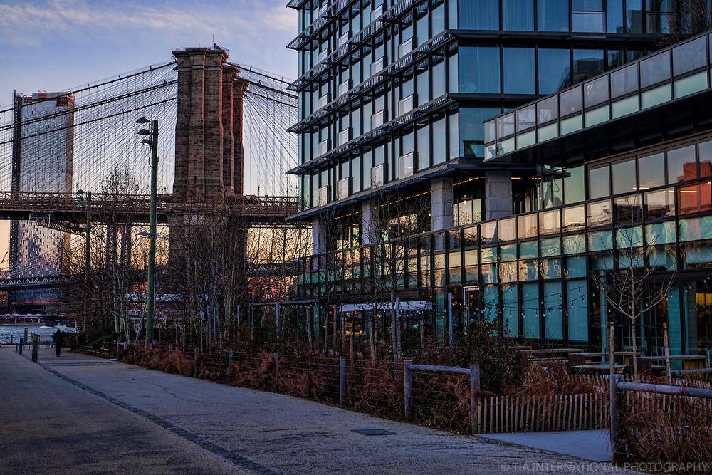 Brooklyn Bridge Park Greenway