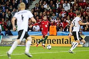 Rafa Silva of Portugal, during the match against Austria, valid for the European Championship Group F 2016 in the Parc des Princes stadium in Paris on Saturday 18. The game ended 0 to 0.