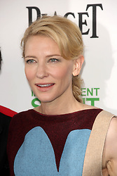 Cate Blanchett at the 2014 Film Independent Spirit Awards Arrivals, Santa Monica Beach, Santa Monica, United States, Saturday, 1st March 2014. Picture by Hollywood Bubbles / i-Images<br /> UK ONLY