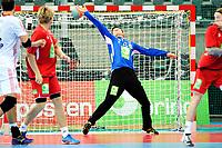 Fredag 1. November 2013 , Hånball , Bring Cup Golden Leauge , Herrer<br /> Norge - Kroatia<br /> Ole Erevik , keeper Norge<br /> Foto: Sjur Stølen / Digitalsport