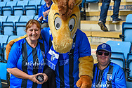 Mascot and fans during the EFL Sky Bet League 1 match between Gillingham and Coventry City at the MEMS Priestfield Stadium, Gillingham, England on 25 August 2018.