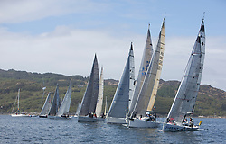 Day two of the Silvers Marine Scottish Series 2015, the largest sailing event in Scotland organised by the  Clyde Cruising Club<br /> Racing on Loch Fyne from 22rd-24th May 2015<br /> <br /> IRC Class 2 start which has had the closest racing. <br /> <br /> <br /> Credit : Marc Turner / CCC<br /> For further information contact<br /> Iain Hurrel<br /> Mobile : 07766 116451<br /> Email : info@marine.blast.com<br /> <br /> For a full list of Silvers Marine Scottish Series sponsors visit http://www.clyde.org/scottish-series/sponsors/