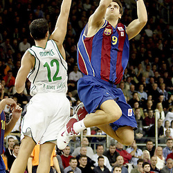 20041111: SLO, Basketball - Euroleague, KK Union Olimpija vs FC Regal Barcelona