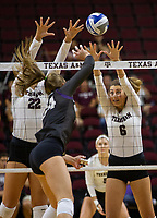 BYU vs. Texas A&M NCAA college soccer game Friday, Aug. 24, 2018, in College Station, Texas.