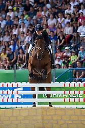 Kristina Cook, (GBR), De Novo News - Jumping Eventing - Alltech FEI World Equestrian Games™ 2014 - Normandy, France.<br /> © Hippo Foto Team - Leanjo De Koster<br /> 31-08-14