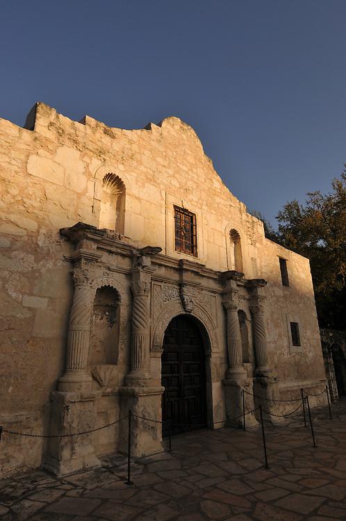 Various images of The Alamo, San Antonio, Texas