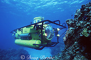 Atlantis Deep Explorer submarine (goes to 1000 feet), Grand Cayman, Cayman Islands, British West Indies ( Caribbean Sea )