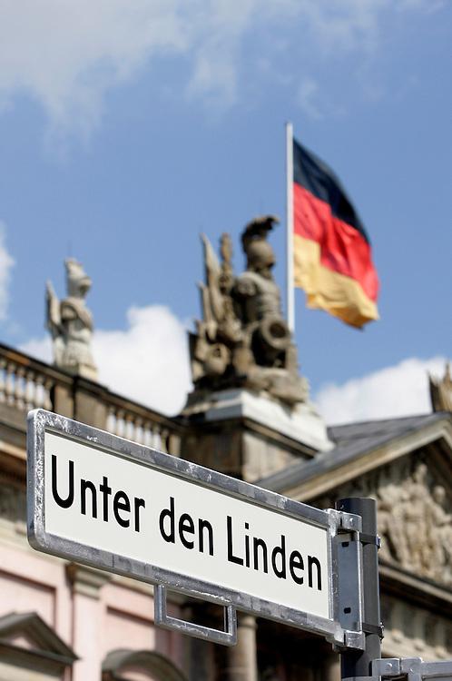 GERMANY - BERLIN - Unter den Linden, Historical Museum. PHOTO GERRIT DE HEUS