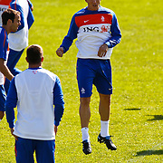 NLD/Katwijk/20100831 - Training Nederlands Elftal kwalificatie EK 2012, Dirk Kuyt