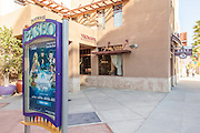 Paseo Playhouse District Courtyard and Vroman's Bookstore in Pasadena