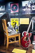 BB King exhibit Sun Studio birthplace of rock and roll stars Elvis Presley, Johnny Cash, Jerry Lee Lewis, Carl Perkins, Memphis