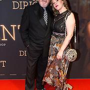 NLD/Amsterdam/20181023 -  Film premiere De Dirigent, Ernst Daniël Smid en dochter Coosje Smid