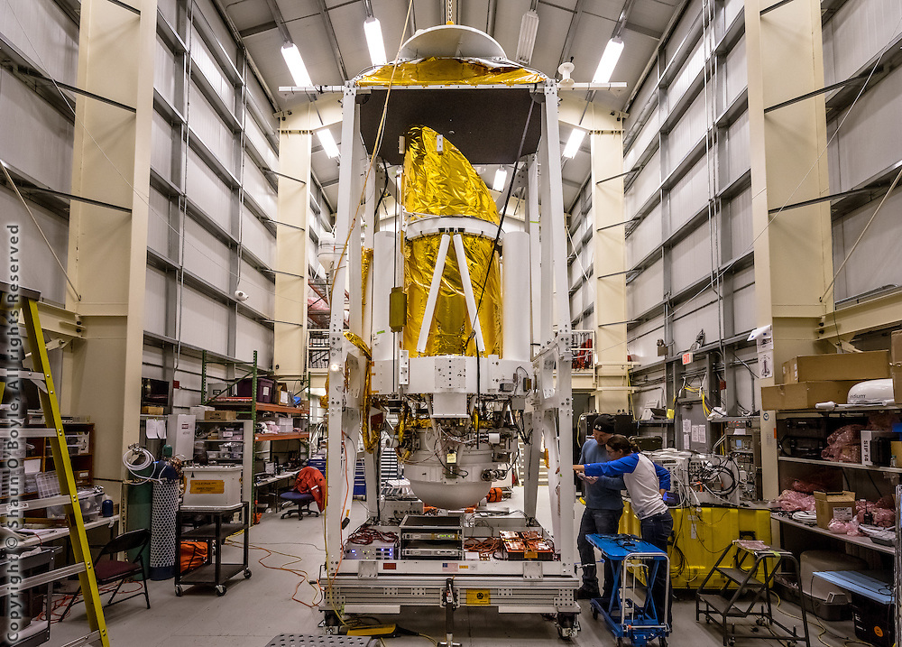 STO (Stratospheric Terahertz Observatory) Telescope, a balloon-borne 80 cm telescope exploring the Milky Way in the far-infrared [CII] and [NII] lines. STO had a successful 14-day Antarctic flight in January 2012 and was preparing for a 2015/2016 flight during my visit. Principal Investigator for the project is Chris Walker.
