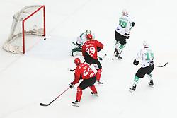 Derbi between  HDD SIJ Acroni Jesenice vs HK SZ Olimpija Ljubljana. October 12, 2021 in Ice Arena Podmezakla, Jesenice, Slovenia. Photo by Peter Podobnik / Sportida