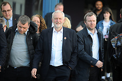 Jeremy Corbyn, Dunfermline, 24-04-2017<br /> <br /> Jeremy Corbyn MP visited Dunfermline Conference Centre<br /> <br /> (c) David Wardle | Edinburgh Elite media