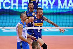 IVAN ZAYTSEV ESULTA<br /> <br /> <br /> Italy vs Slovenia<br /> Volleyball men's world championship <br /> Florence September 18, 2018