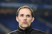 Fussball: Deutschland, 1. Bundesliga, Hamburger SV - BVB Borussia Dortmund, Hamburg, 20.11.2015<br /> <br /> Trainer Thomas Tuchel (Dortmund)<br /> <br /> © Torsten Helmke