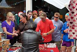 CSBSJU Group, Cotacachi City & Market