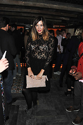 CATALINA GUIRADO at the launch party for the new nightclub Tonteria, 7-12 Sloane Square, London on 25th October 2012.