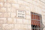 Via Dolorosa, Old City, Jerusalem, Israel