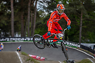 #238 (VAN DE GROENENDAAL Kevin) NED during round 3 of the 2017 UCI BMX  Supercross World Cup in Zolder, Belgium,