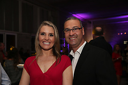 Mathias Rodrigues e Elizandra Arend na festa de inauguração do Viva Open Mall. FOTO: Dani Barcellos/ Agência Preview