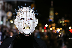 October 31, 2018 - New York, New York, U.S. - Revelers participate in the 2018 New York City Halloween Parade in New York City. (Credit Image: © William Volcov/ZUMA Wire)