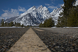 """Road To The Grand Tetons, Grand Teton National Park<br /> <br /> For production prints or stock photos click the Purchase Print/License Photo Button in upper Right; for Fine Art """"Custom Prints"""" contact Daryl - 208-709-3250 or dh@greater-yellowstone.com"""