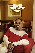 5/1/08 11:16:57 AM -- Atlanta, GA, U.S.A<br /> Author E. Lynn Harris, at his Atlanta home. <br /> <br /> Photo by Michael  A. Schwarz, USA TODAY contract photographer