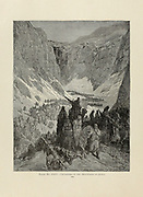 Crusaders in the Mountains of Judea Plate XXIV from the book Story of the crusades. with a magnificent gallery of one hundred full-page engravings by the world-renowned artist, Gustave Doré [Gustave Dore] by Boyd, James P. (James Penny), 1836-1910. Published in Philadelphia 1892
