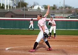 13 April 2010: Megan Warner. The Illini of Illinois knock off the Illinois State Redbirds 5-1 on the campus of Illinois State University in Normal Illinois.