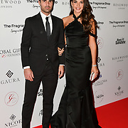 Mikel Arteta and Lorena Bernal Arrivers at The Global Gift Gala red carpet - Eva Longoria hosts annual fundraiser in aid of Rays Of Sunshine, Eva Longoria Foundation and Global Gift Foundation on 2 November 2018 at The Rosewood Hotel, London, UK. Credit: Picture Capital