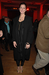 Actress MARGO STILLEY at the Art Plus Drama party Held at the Whitechapel Art Gallery, London E1 on 8th March 2007. <br />