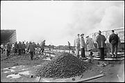 "ackroyd_08553-23. ""Crown Zellerbach. Waterways Terminal fire. September 11, 1958"" (photographed on dock. 35mm. see aerials)"